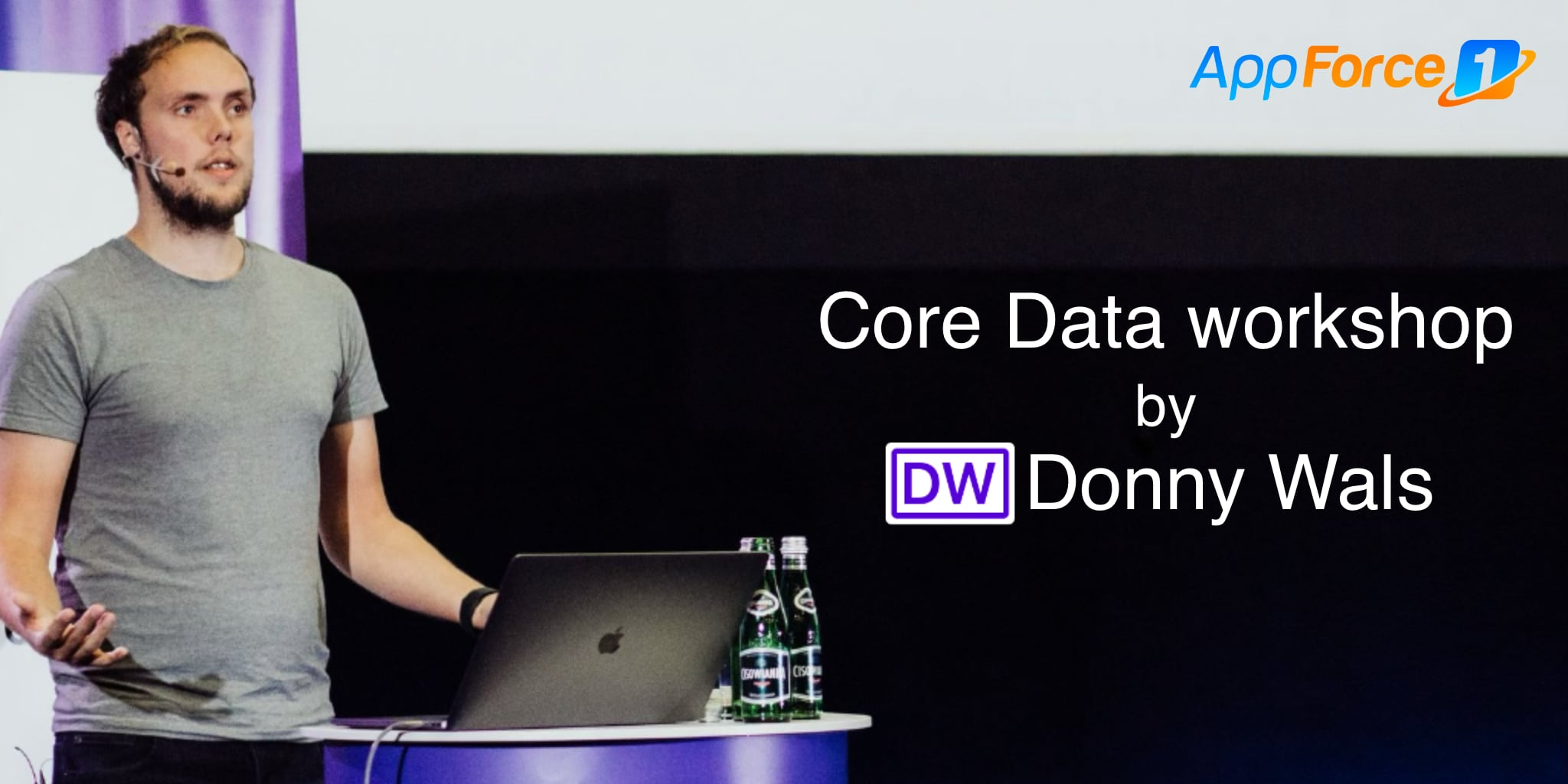 Core Data workshop with Donny Wals